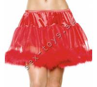Двухслойная юбочка красная STM-10253red OS