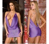 Фиолетовое платье PRIVATE LOOK CL086-PUR