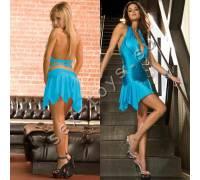 Клубное платье с ассимметричной юбкой CL083-TLQ