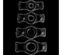 Набор колец Titan Men Black 3503-05CDDJ