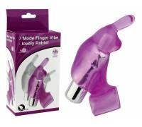 Виброкольцо фиолетовое 7 Model Finger Vibe-lovely Rabbit 32015-purpleHW