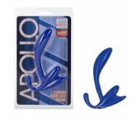 Стимулятор простаты голубой APOLLO CURVED 0409-40CDSE