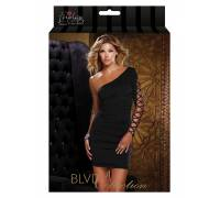 Платье c открытым плечем ONE SHOULDER DRESS BLACK S 882696-BLACK-S