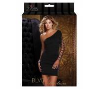 Платье c открытым плечем ONE SHOULDER DRESS BLACK L 882696-BLACK-L
