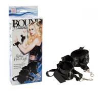 Блестящие наручники со стразами Bound by Diamonds 2657-10BXSE