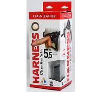 "Кожаные трусики Harness Ultra Realistic 5,5"" 630803ru"