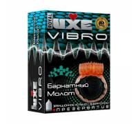 Эрекционное виброкольцо Luxe VIBRO Бархатный молот