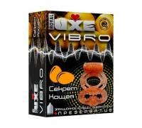 Эрекционное виброкольцо Luxe VIBRO Секрет Кощея