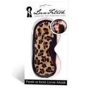 Маска леопардовая на глаза PEEK-A-BOO LOVE MASK LF6014