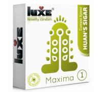 Презерватив Luxe Maxima WHITE Сигара Хуана - 1 шт.