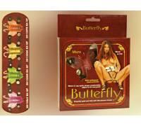 Розовая бабочка для клитора