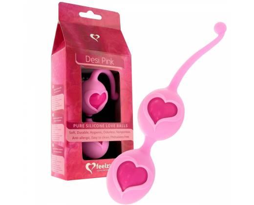 Шарики с оболочкой из силикона Desi Pink E21148