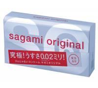Ультратонкие презервативы Sagami Original - 6 шт.