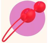 Вагинальные шарики ярко-оранжевые SMARTBALLS DUO 34323