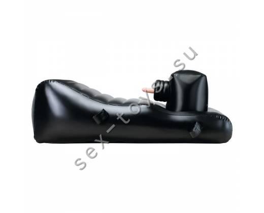 Надувное кресло LOTUS LOVE LOUNGER BLACK 9682TJ