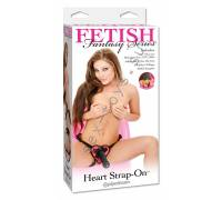 Страпон Heart Fetish Fantasy Pink 216311PD