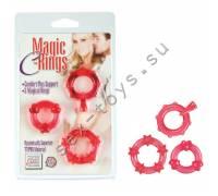 Колечки красные MAGIC C-RINGS SE-1429-30-2