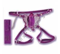 Бабочка для клитора с выносным пультом вибрации SE-0601-14-3