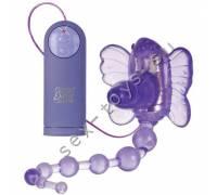 Бабочка с анальным стимулятором SE-0592-50-3