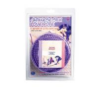 Фиолетовая веревка для фиксации Japanese Silk Love Rope - 5 м.