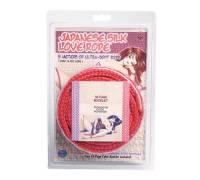 Красная веревка для фиксации Japanese Silk Love Rope - 5 м.