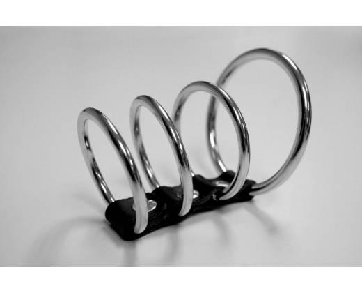 4 эрекционных кольца Ring Cock Cage