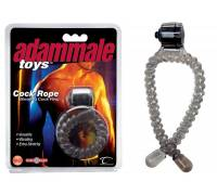 Эрекционное лассо с вибрацией Adam Male Toys Cock Rope