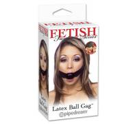 Кляп LATEX BALL GAG