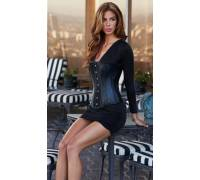 Корсет Essential Satin Leather Corset