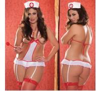 Боди увеличенного размера Медсестра