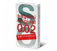 Ультратонкие презервативы Sagami Original - 4 шт.