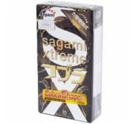 Суженные к основанию презервативы Sagami Xtreme COBRA - 10 шт.