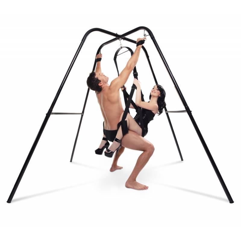 Bondage sex swing