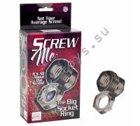 Кольцо Screw Me The Big Socket Ring 1475-40BXSE
