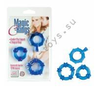 Колечки синие MAGIC C-RINGS SE-1429-35-2