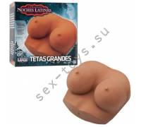 Реалистичный мастурбатор грудь латиночки NOCHES LATINAS 5705-20-BX