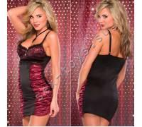 Платье с лифом на косточках BURGUNDY 3608burgundyMCQ