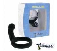 Силиконовое кольцо Rollie Black E21304