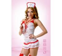 Костюм Медсестры кружевной 02893SM
