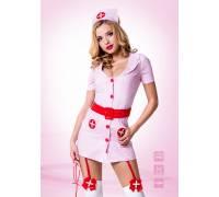 Костюм Похотливая медсестра розовая 02211ML
