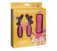 Стимулятор для сосков с вибрацией Cliffhangers Pink 9353TJ
