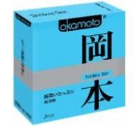 Презервативы OKAMOTO Skinless Skin Super lubricative № 3 89696Ok