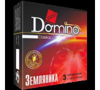 Презервативы Domino Земляника №3