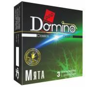Ароматизированные презервативы Domino Мята - 3 шт.
