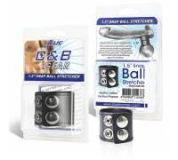 Хомут-утяжка для мошонки SNAP BALL STRETCHER BLM1687