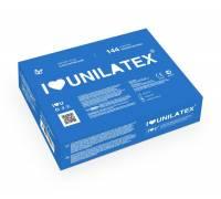 Классические презервативы Unilatex Natural Plain - 1 блок (144 шт.)