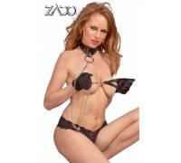 Кожаный поводок ZADO Leather Leash