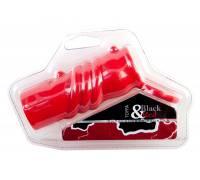 Красная силиконовая насадка с кольцом
