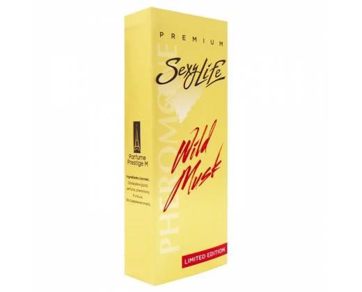 Мужские духи Wild Musk №1 с мускусом и феромонами - 10 мл.