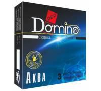 Презервативы Domino Аква - 3 шт.